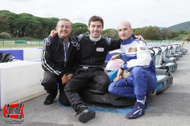 Fondateurs de l'association Kart-maX championnat amateur sur karts de loisir